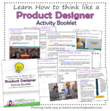 Girl Scout Junior Product Owner Activity Booklet