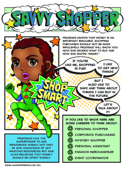Girl Scout Junior Superhero Savvy Shopper Download