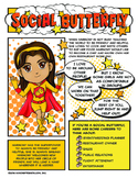 Girl Scout Junior Superhero Social Butterfly Download