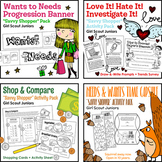 """Girl Scout Juniors - """"Savvy Shopper"""" Activity Pack Bundle - All 5 Steps!"""