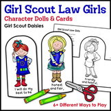 Girl Scout Law Girls: Character Dolls & Cards - Girl Scout