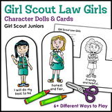 Girl Scout Law Girls: Character Dolls & Cards - Girl Scout Juniors
