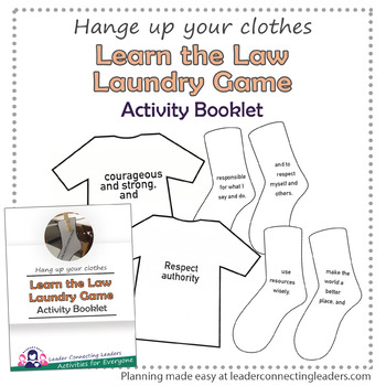 Learn Your Law Laundry Game
