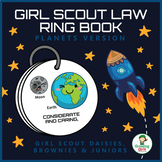 Girl Scout Law Ring Book - Planets - Girl Scout Daisies, Brownies & Juniors