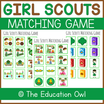 Girl Scout Matching Game