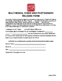 Girl Scout Photo Release Form