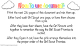 Girl Scout Promise Game