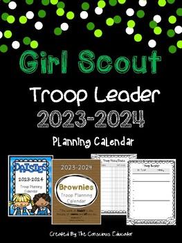 Girl Scout Troop Leader Planning Calendar