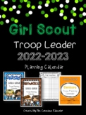 Girl Scout Troop Leader Planning Calendar