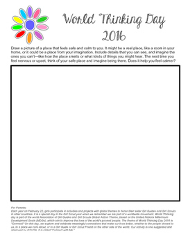 Girl Scout World Thinking Day 2016 Daisy Activity