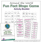 Girl Scout World Thinking Day Bingo
