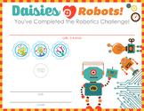Girl Scout inspired Daisy Robotics Badges STEM Certificate
