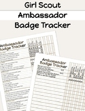 Girl Scouts Ambassador Badge Tracker