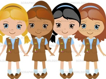 Girl Scouts Brownie set 4png special price