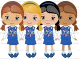 Girl Scouts Daisy set 4png special price