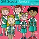 Girl Scouts Juniors-Color and B&W- 39 items!