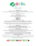 Girl Scouts Troop Welcome Letter