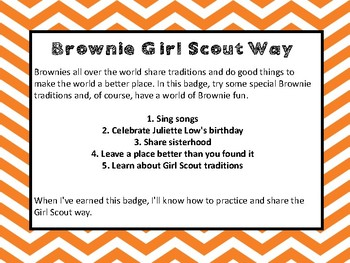 Girl Scouts Way Patch