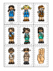Girl Scouts themed Memory Matching preschool curriculum game. Daycare