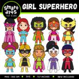 Girl Superhero Clip Art