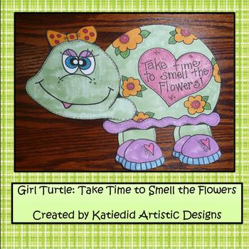 Girl, Turtle