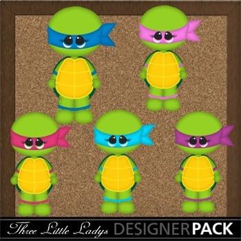 Girl Turtles