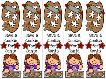Girl baking cookies 4 bookmark