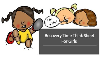 Girl's Recovery Time Think English and Spanish