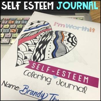 Self Esteem Coloring Journal