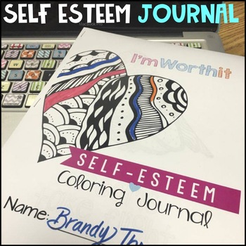 Self Esteem Coloring Journal