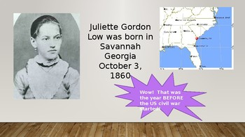 Girl Scout Founding PowerPoint