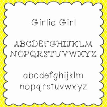 Girlie Girl Font {personal and commercial use; no license needed}