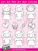 Girls Clip Art Collection