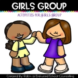 Girls Group Activity Pack- 8 Activites