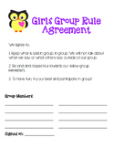 Girls Group -- Group Agreement