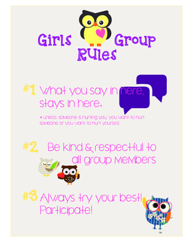 Girls Group -- Group Rules