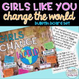 Girls Like You Change The World Bulletin Board Kit