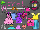 Girls Pack: All about Me! {TeacherToTeacher Clipart}