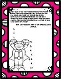 Girls Self Esteem Superhero worksheet