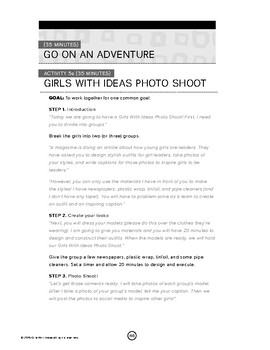 Girls With Ideas Free Leadership Lesson