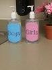 Girls/Boys bathroom pass labels