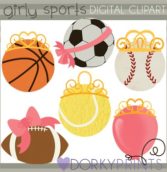 Girly Sports Clip Art