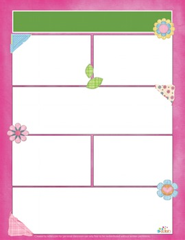 Girly Western/Quilt Newsletter for Word