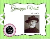 Giusseppi Verdi - his life and music PPT