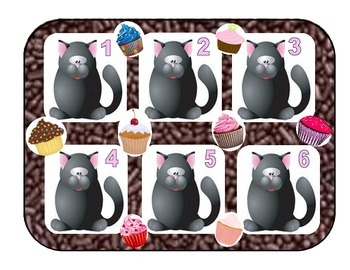 Give A Cat a Cupcake ABC Order (file folder)