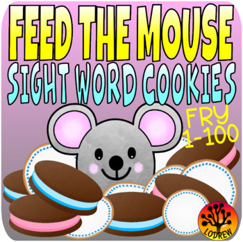 If You Give A Mouse A Cookie Centers Sight Word Activities Fry 1-100 First 100