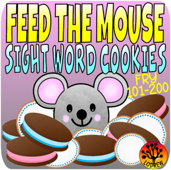 If You Give A Mouse A Cookie Centers Sight Word Activities Fry 101-200 2nd 100