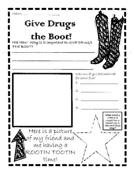 Give Drugs the Boot!