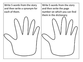 Give Me 5---14 Fun Ways for Students to Use Words