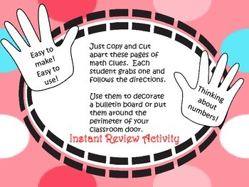 Give Me 5---22 Fun Ways for Students to Use Math